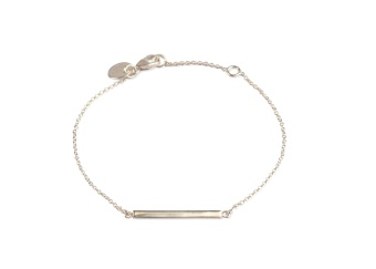 STRICT SIMPLE LINE BRACELET SILVER