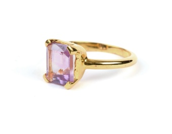LITTLE GRACE RING AMETHYST S