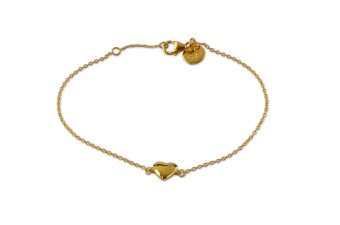 LUCKY ME BRACELET HEART GOLD