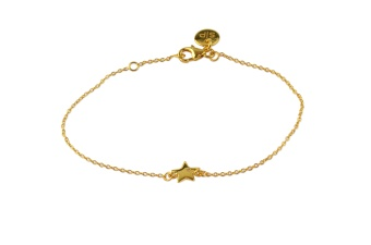 LUCKY ME BRACELET STAR GOLD