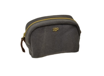 MIDI TOILETRY BAG DARK GREY