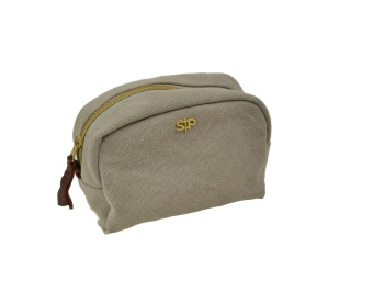 MIDI TOILETRY BAG LIGHT GREY