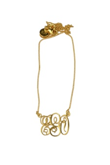 MONO NECKLACE GOLD EGO
