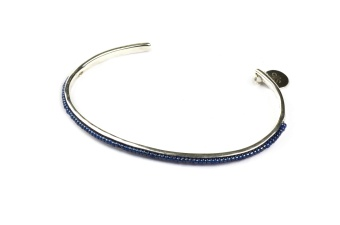 NATIVE NARROW BANGLE BLUE