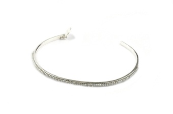 NATIVE NARROW BANGLE SILVER GREY