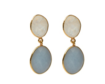 NUGGET EARRINGS GOLD ANGELITE
