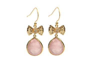 OH SO PRETTY EARRINGS GOLD ROSE