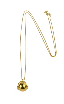 PLANET NECKLACE GOLD GOLD