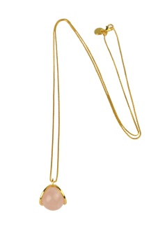 PLANET NECKLACE GOLD ROSE