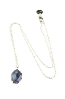 SCARAB NECKLACE, SODALITE