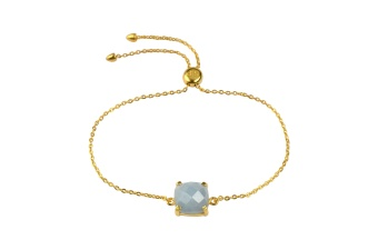 SINGLE CUSHION BRACELET GOLD ANGELITE
