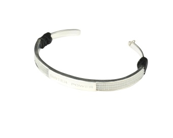 SISTER POWER BRACELET WHITE SILVER