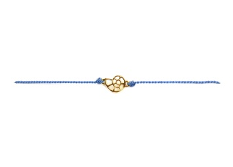 SPARKLE BRACELET ROYAL BLUE SHELL