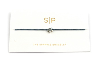 SPARKLE BRACELET STAR BLUE