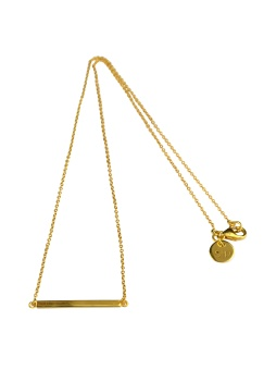 STRICT LINE NECKLACE GOLD