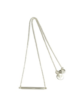 STRICT LINE NECKLACE SILVER