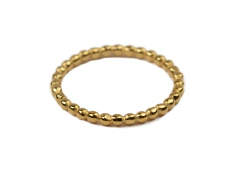 TINY DOTS RING GOLD