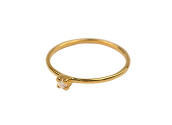 TINY PRINCESS RING GOLD