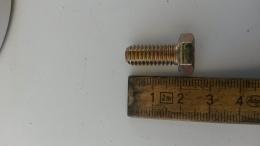 bult / skruv tum 10mm x 38mm
