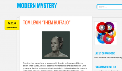 Review of Them Buffalo, Tom Levin, ModernMysteryBlog
