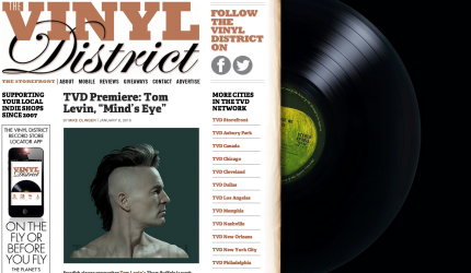 The Vinyl District Premiering Tom Levin's Mind's Eye