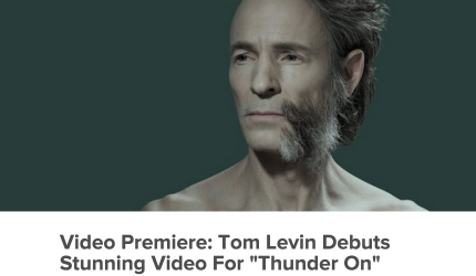 Arena.com premieres Tom Levin's video Thunder On