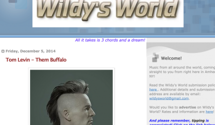 Review, Them Buffalo, Tom Levin, Wildy's World