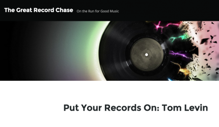 The Great Record Chase - Tom Levin - Inspiration