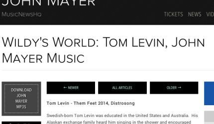 Tom Levin Them Feet receiving a raving review