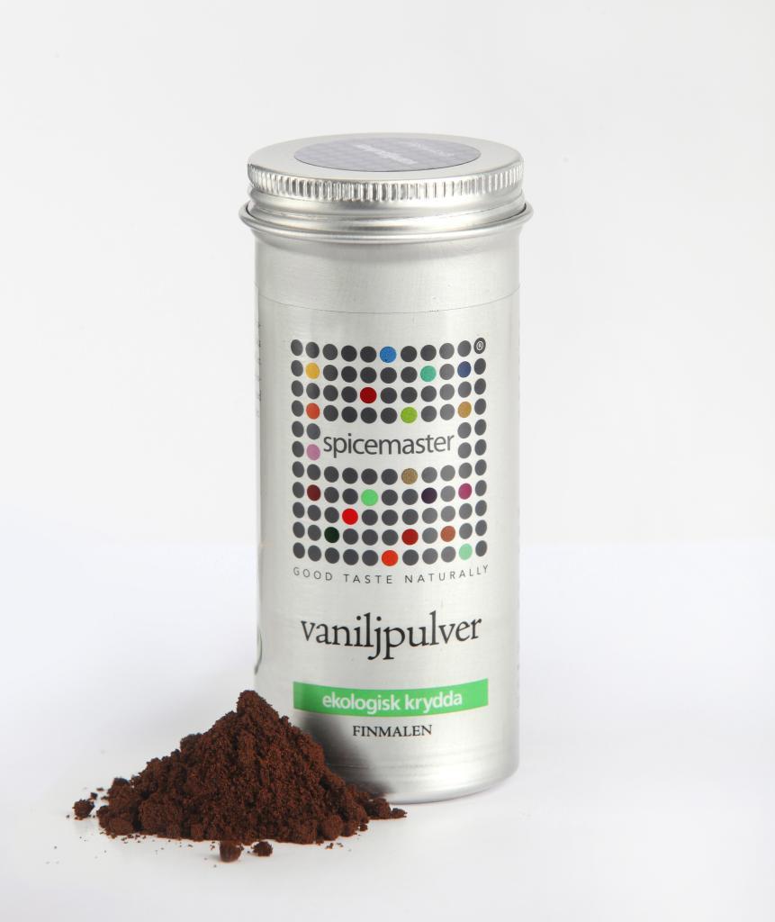 Vaniljpulver, 16 g, ekologisk