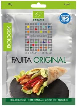 Fajita - 3-pack, 120g à 40g st, ekologisk