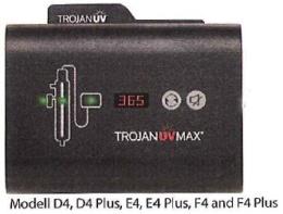 Strömenhet Viqua Trojan UV-Max D4, E4, F4