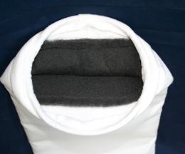 Filterpåse med insydd aktiv kol, 1 my till EF2
