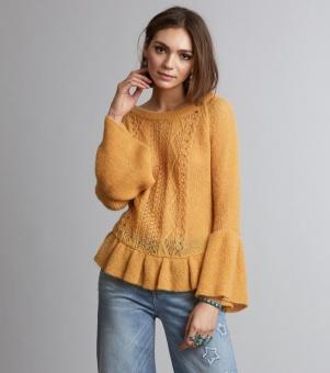 Odd Molly choice maker sweater honey gold