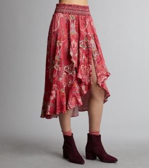 Odd Molly delicate skirt rasberry