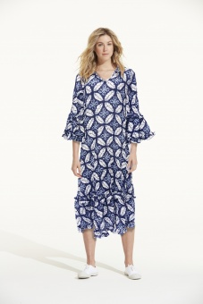 Indie Dress Long Navy