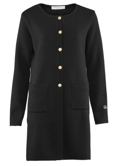 Busnel Boulogne Coat Black