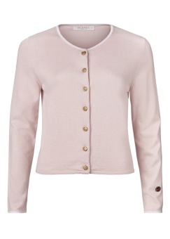 Kee Cardigan With Line Light Pink