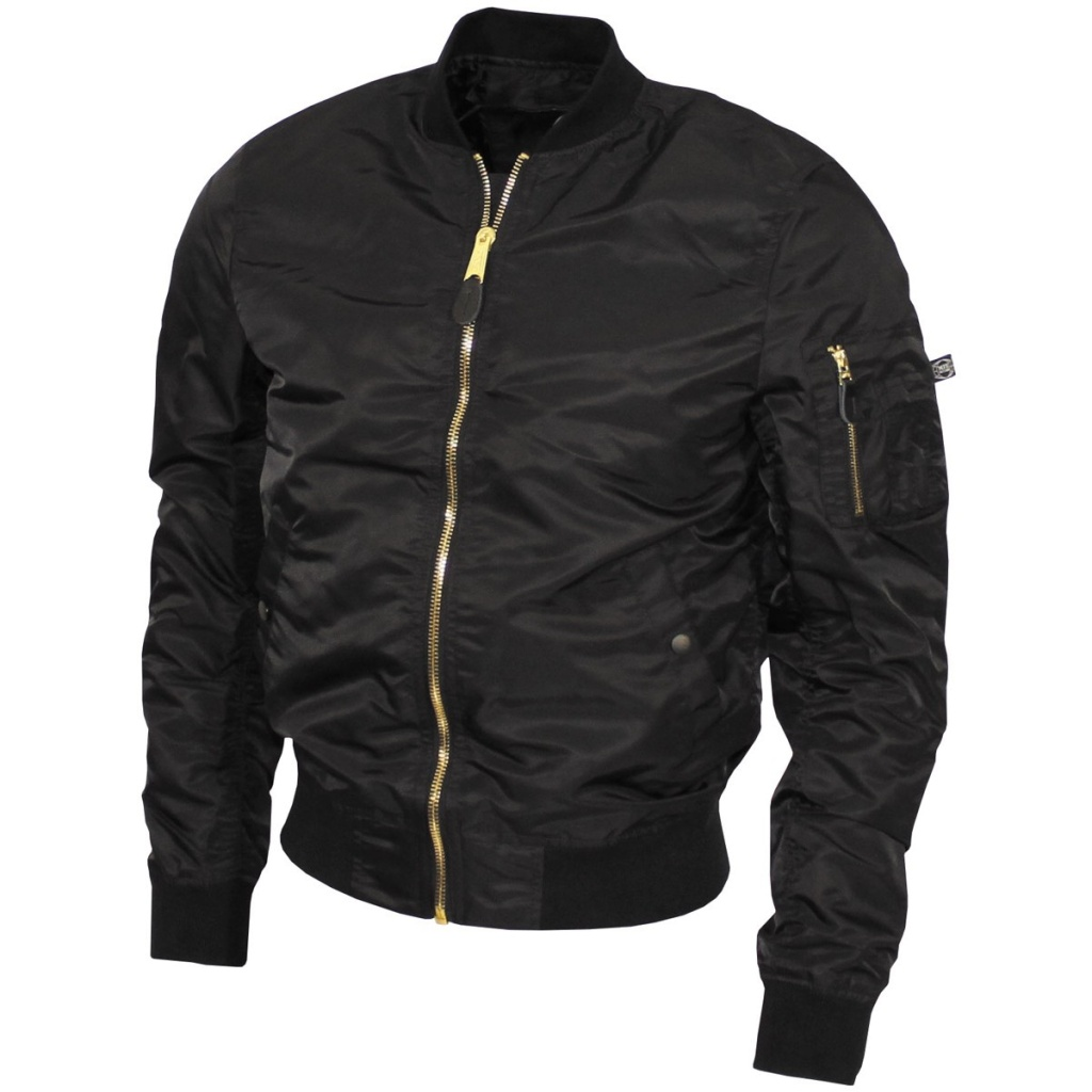US Airforce Jacket Black 03556A
