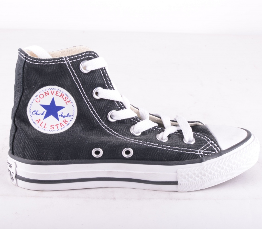 All Star Black Hi Youth