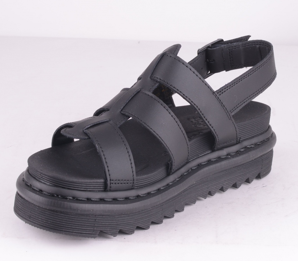 Yelena Sandal Black Leather
