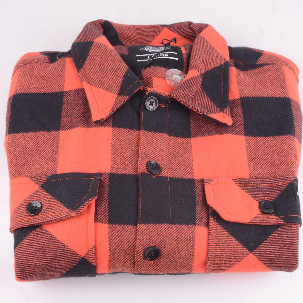 Sacramento Shirt Orange/Black