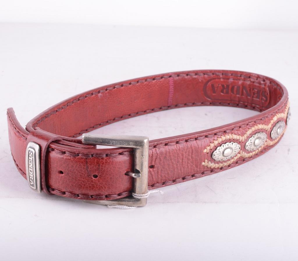 Coyote Rojo Plate Belt