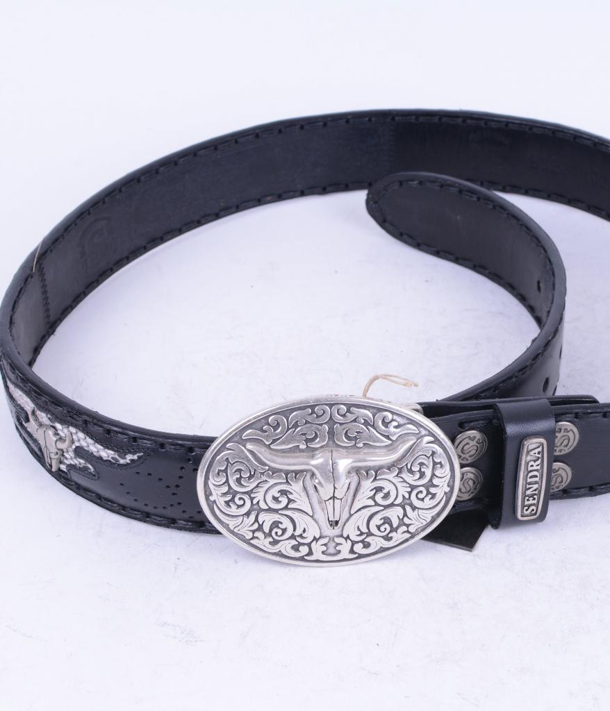 8322 Black Python Belt