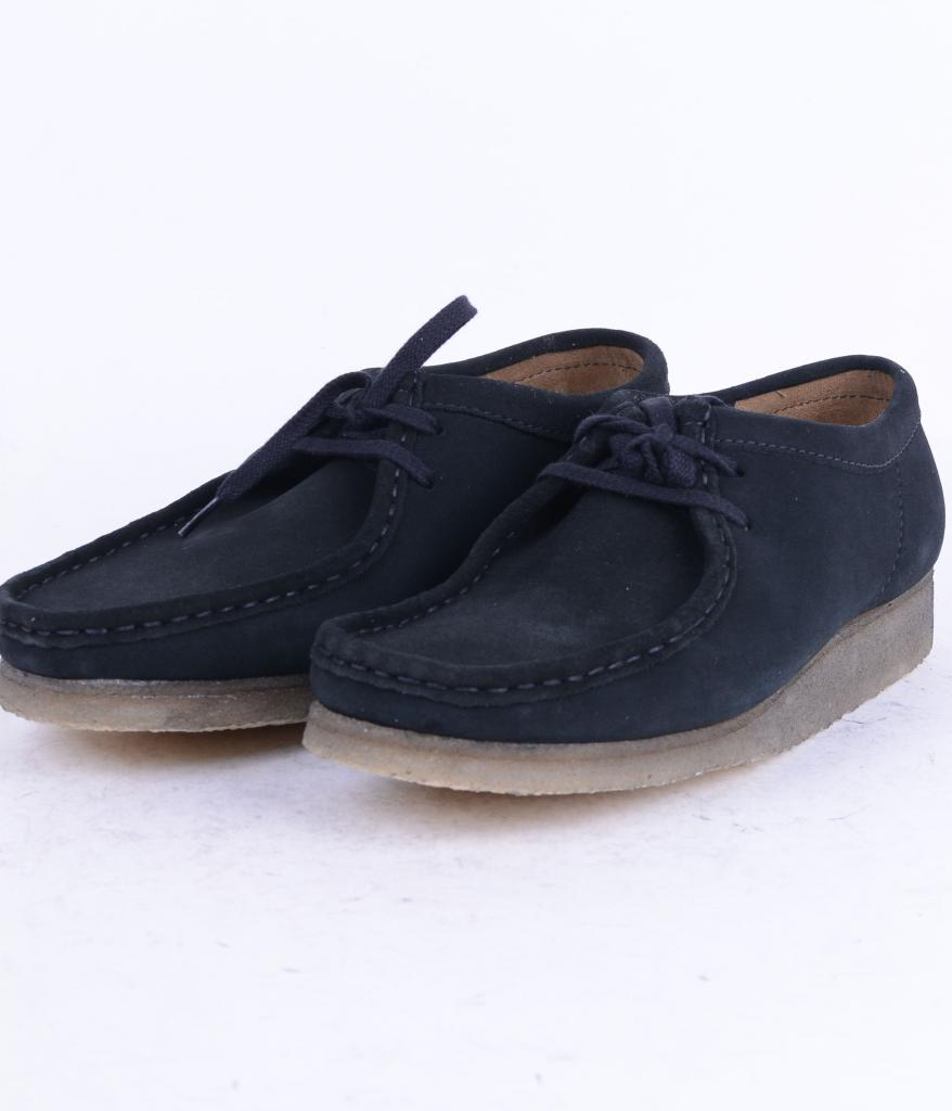 eb941093f SKO UNO - Clarks Wallabee Black