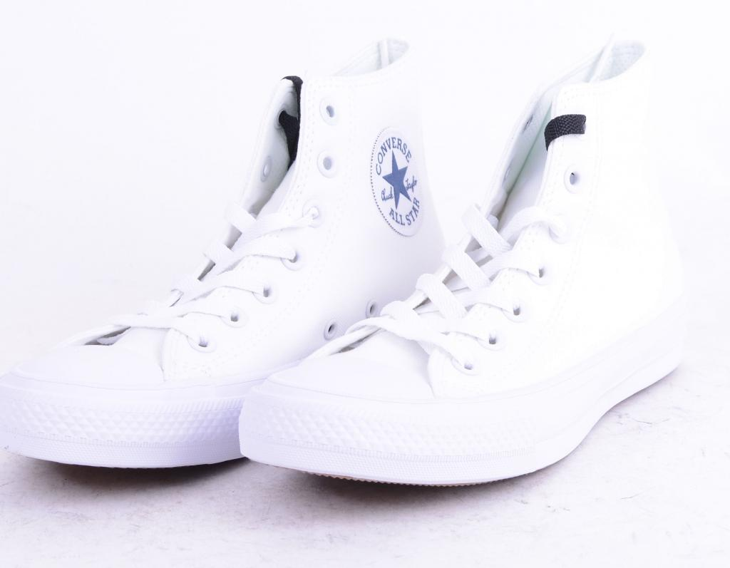 All Star CT II HI White