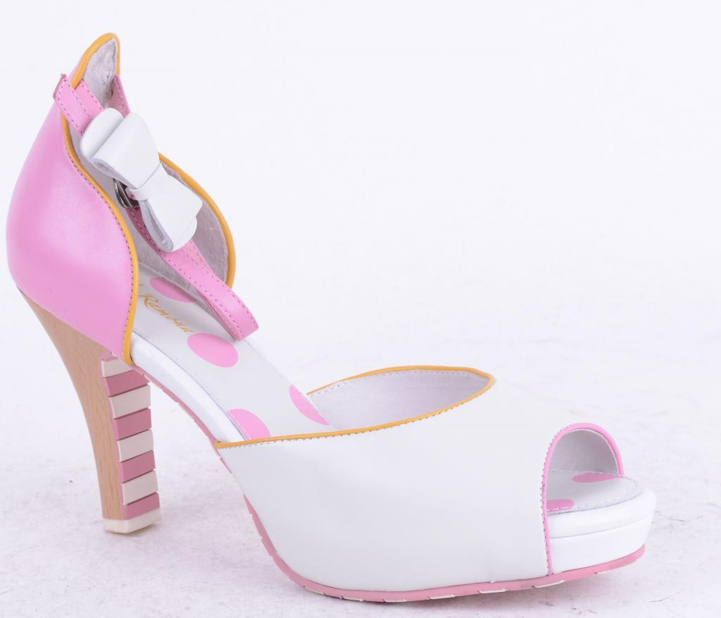 Angie 413028-91 White/Pink