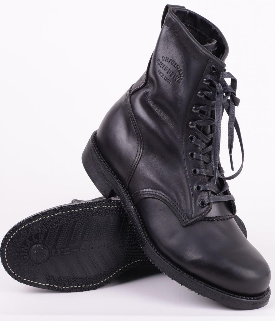 1901 G20 Service Boot Black