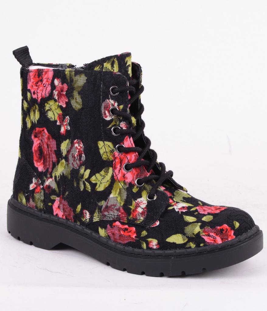 A9141-7EYE Floral Lace
