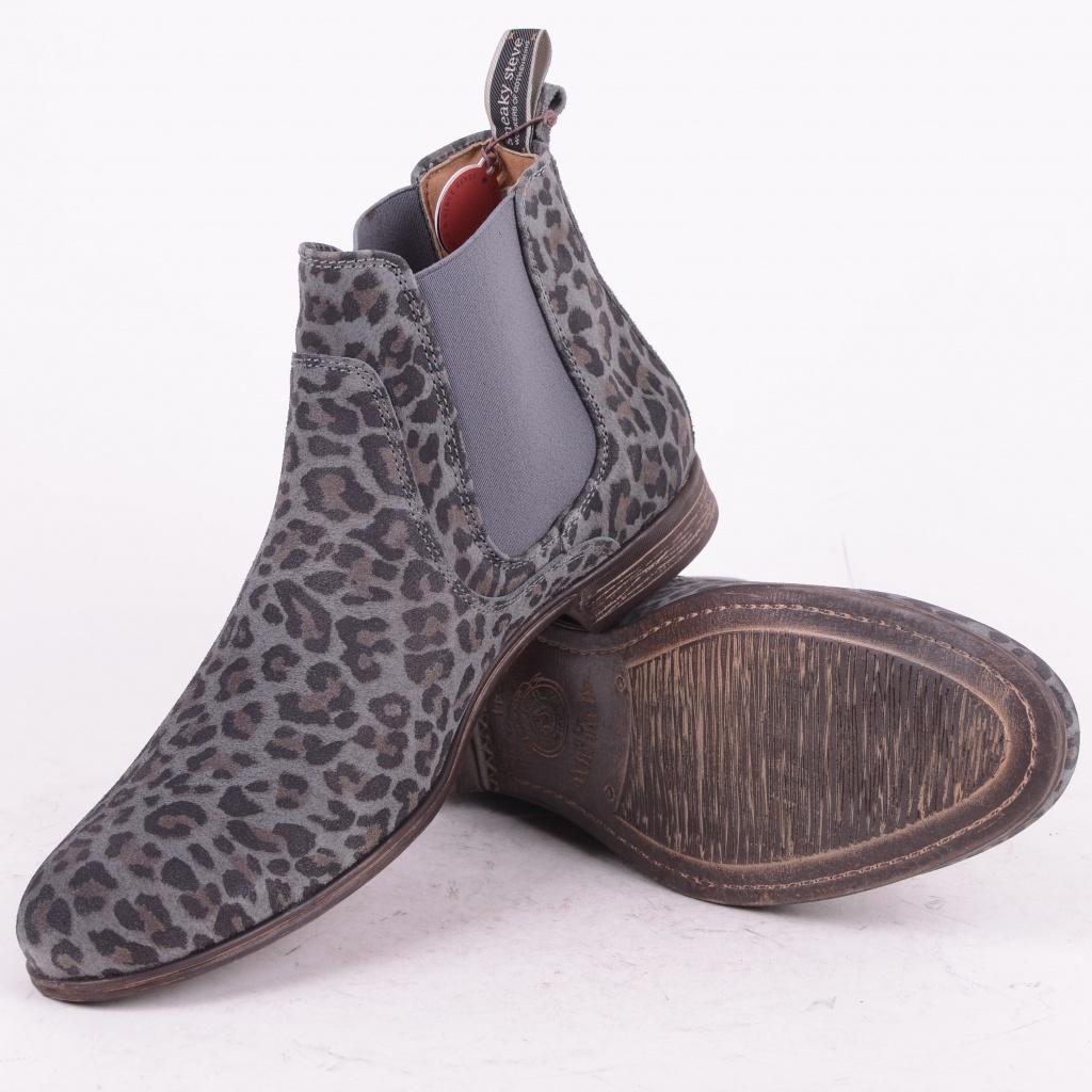 Cumberland Leopard Suede